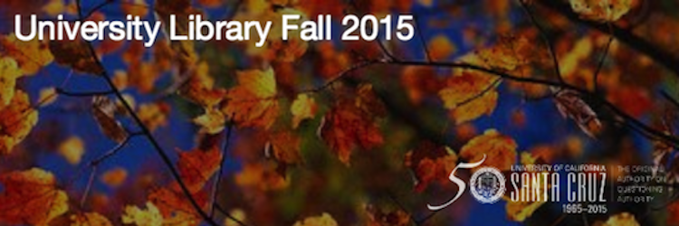 Fall 2015 newsletter banner