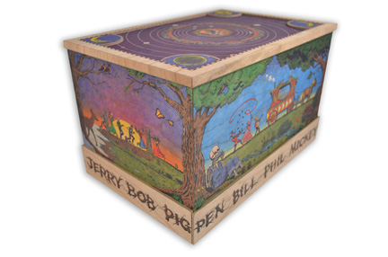 30 trips around the sun wooden box