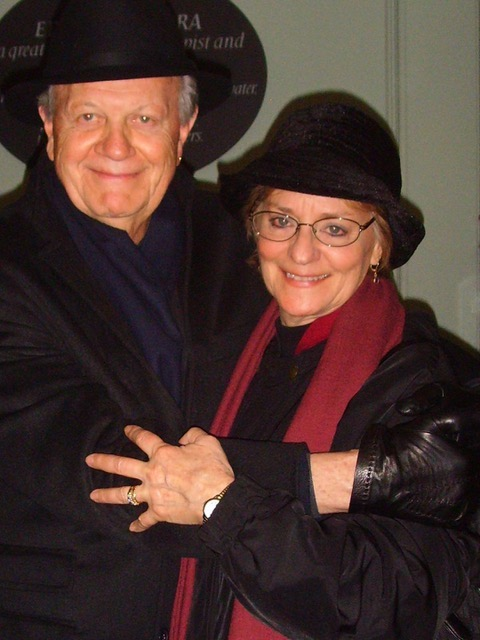 Margaret Brose and  Hayden White, Bologna, Italy