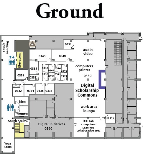 McHenry Library Floor Plans | University Library