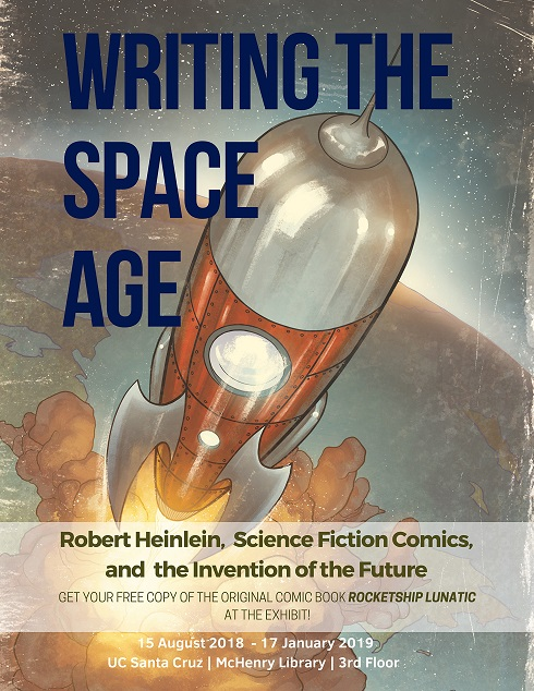Writing the Space Age poster