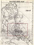 Aerial photo index map flight: 1954b