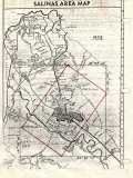 Aerial photo index map flight: 1958