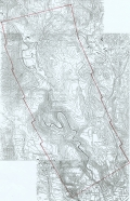 Aerial photo index map flight: 1961d