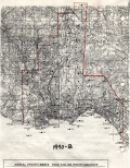 Aerial photo index map flight: 1990b