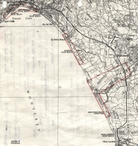 Aerial photo index map flight: 1928f