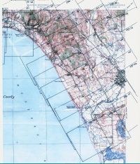 Aerial photo index map flight: 1939A_Santa_Cruz_County_Flight_CJA_Index_2