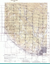 Aerial photo index map flight: 1943_Santa_Cruz_County_Flight_CJA_Index_2