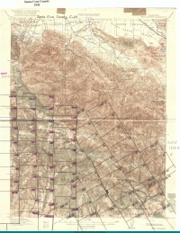 Aerial photo index map flight: 1943_Santa_Cruz_County_Flight_CJA_Index_4