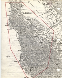 Aerial photo index map flight: 1956d