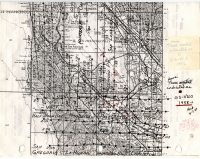 Aerial photo index map flight: 1958a