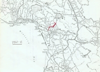 Aerial photo index map flight: 1961c