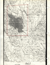 Aerial photo index map flight: 1962d
