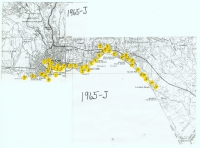 Aerial photo index map flight: 1965j