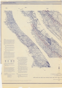Aerial photo index map flight: 1966-D Aerial Index 1