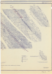 Aerial photo index map flight: 1966-D Aerial Index 2