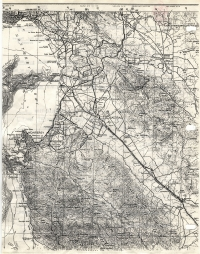 Aerial photo index map flight: 1966e