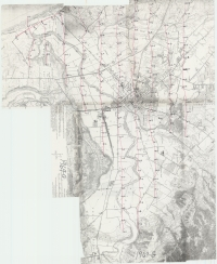 Aerial photo index map flight: 1969g