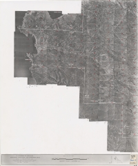 Aerial photo index map flight: 19713