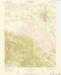 Aerial photo index map flight: 19731