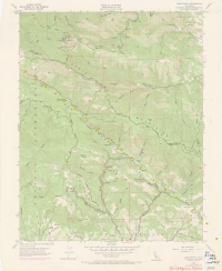 Aerial photo index map flight: 19735
