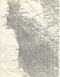 Aerial photo index map flight: 1976