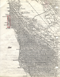 Aerial photo index map flight: 1983c