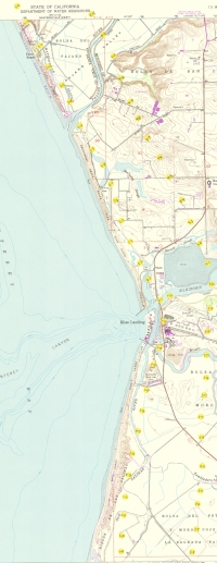 Aerial photo index map flight: 1989i_usgs-monterey-bay_index2