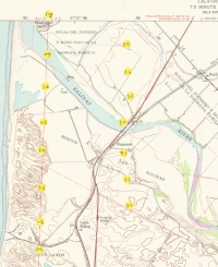 Aerial photo index map flight: 1989i_usgs-monterey-bay_index3