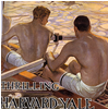 Poster of Harvard-Yale Crew Race. By P. Eyendecker