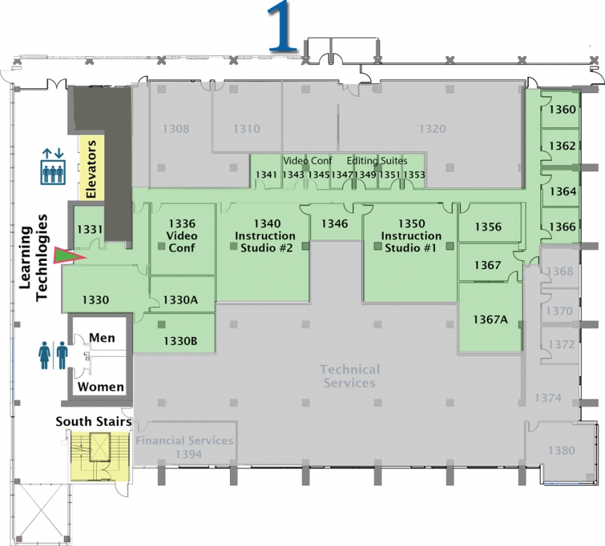 Mchenry Library Floor Plans University Library