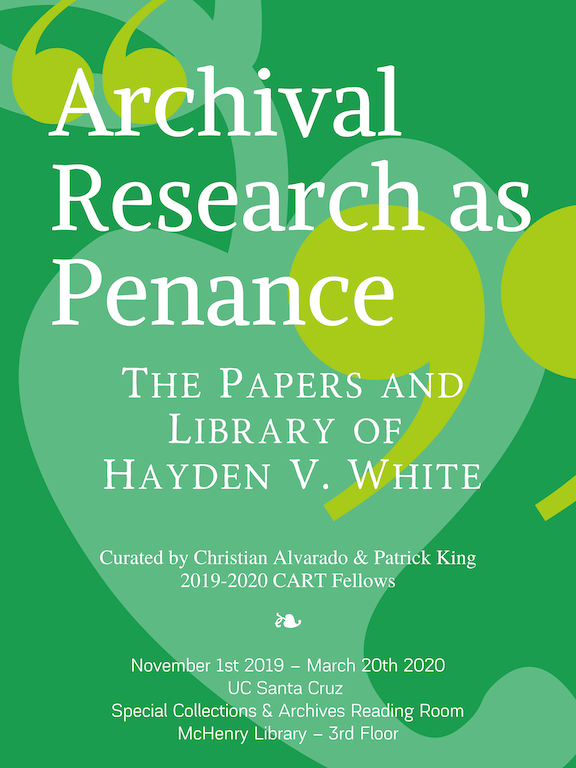 Archival Research as Penance poster
