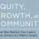 Equity, Growth and Community -- book cover