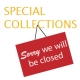 Special Collections Sorry we will be closed