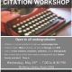 Citation Workshop