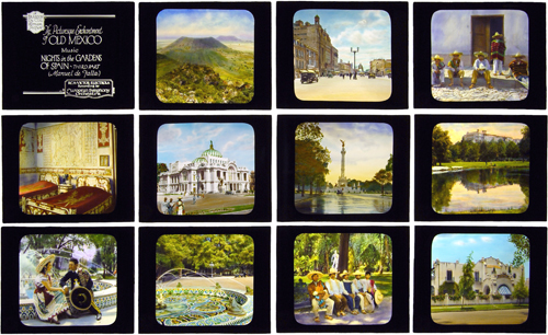 DeCou Lantern Slides, selection of Mexico images