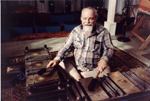 LouHarrison-playing gamelan.jpg